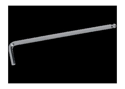 Sechskant-Winkel-Schraubendreher, lang mit Kugelkopf