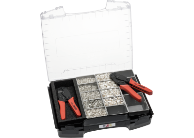 Crimp Lever Pliers and End-Sleeves Assortment in Sortimo I-BOXX