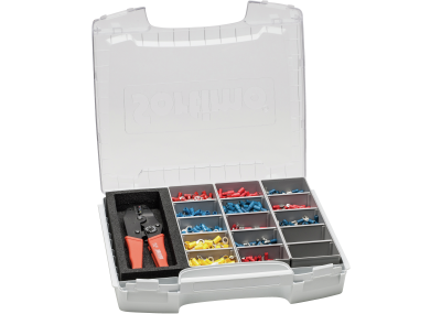 Crimp Lever Pliers and Terminals Assortment in Sortimo I-BOXX