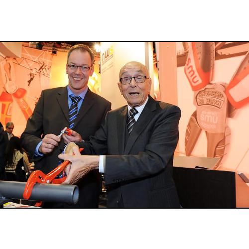 NWS - Firmengründer Willibald Nöthen (r.) mit Prokurist und Marketingleiter Michael Adam