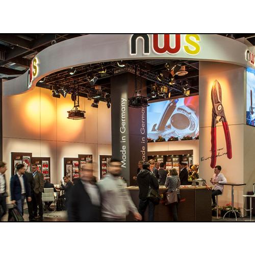 NWS Stand auf der Internationalen Kölner Eisenwarenmesse